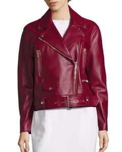 Meryln Leather Moto Jacket