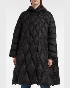 Pyramide Quilted Shell Down Coat