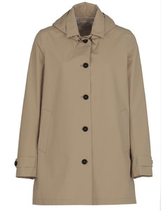 Cashmere jumper with gold button detail