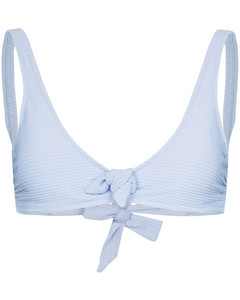 crew neck stripe long sleeve jumper
