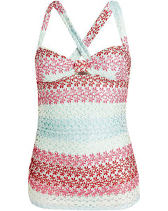 Lysanne striped linen-blend shirt