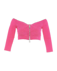 Pepite cropped woven trousers