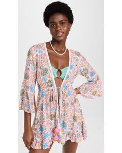23b23ab71ca Strawberry-print mid-rise wide-leg trousers