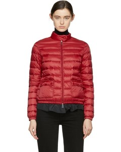 Red Down Lans Jacket