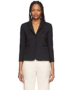 Paneled cloqué and houndstooth wool-tweed mini dress