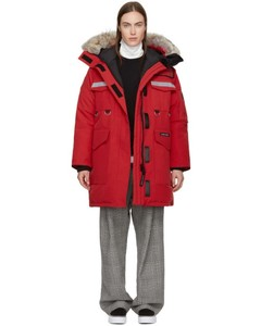 Red Down Resolute Parka