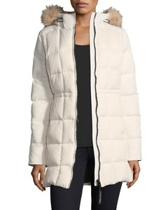 Quilted Fur Puffer Jacket