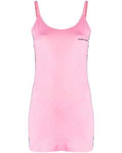 15d47ddc9b2 Shirring Lace Up Dress - Baby Blue