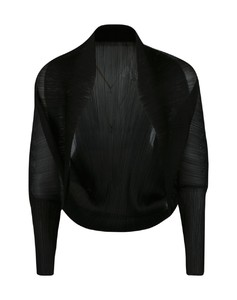 lace trim pinstriped blouse