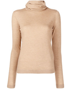 High Neck Wool Jumper