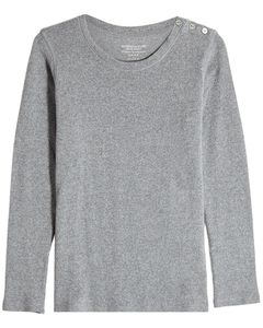 Cashmere Pullover with Wool