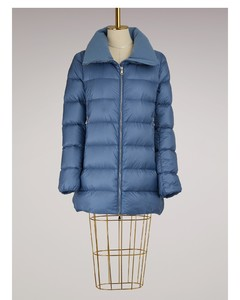 Torcyn down jacket with wool lining Sky