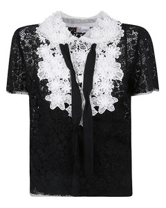 Women's Selena Mid Rise Crop Bootcut Jeans with Lace - Coated Black Lace