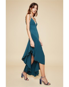 TEMPTATION SHORT SLEEVE GOWN emerald