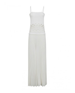 High-Rise Frayed Jeans