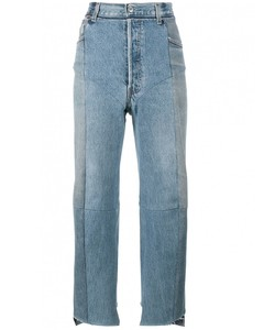Reworked High waisted jeans