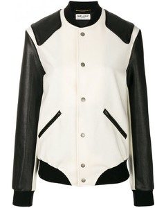 Heaven Wool And Leather Varsity Jacket