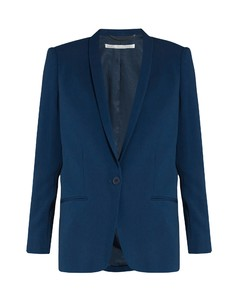 Mattea shawl-collar single-breasted jacket