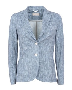 White Quilted Embroidered Jacket