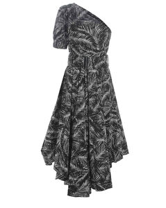 Watson striped linen midi dress