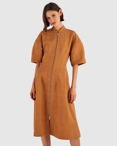 Fur Lined Short Parka