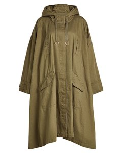 Oversized Cotton Parka