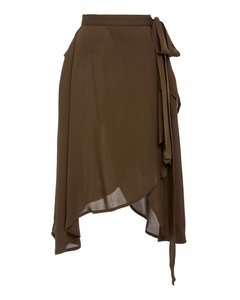 Georgette Wrap Skirt