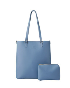 Ivory Rockstud Spike Quilted Clutch Bag