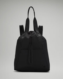 Blue Denim Floral Mini Soleil Bucket Bag