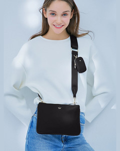 OP Hue Severine Bucket Bag Bianca White Signed by Olivia Palermo
