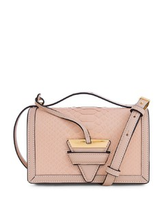 Barcelona Small Python Leather Crossbody Bag