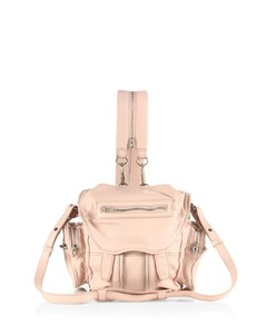 Mini Marti Convertible Leather Backpack