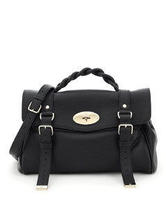 Grey Drew Small Leather shoulder bag