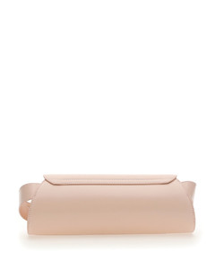 Textured Leather Basket Bag