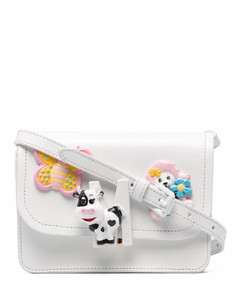 Rockstud Heart Shoulder Bag