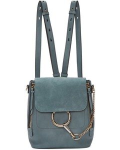 Blue Small Faye Backpack