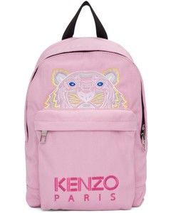 Pink Small Tiger Backpack