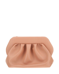 Medium Soft Natalia Metallic Python Shoulder Bag