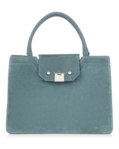 Rebel Suede Top Handle Tote