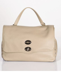 Brown Fey Pom Pom Suede Basket Bag