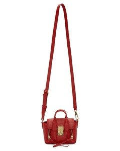 Red Nano Shark Pashli Satchel