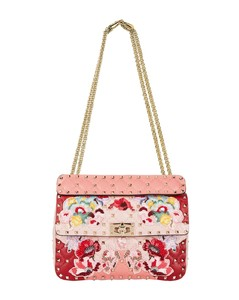 Embroidered Rockstud Bag