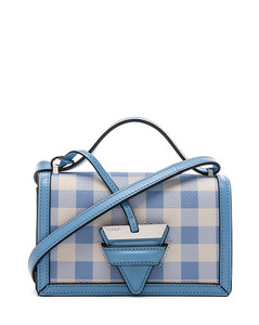 Gingham Small Barcelona Bag
