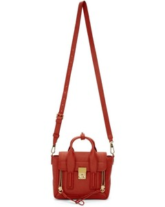 Red Mini Pashli Satchel