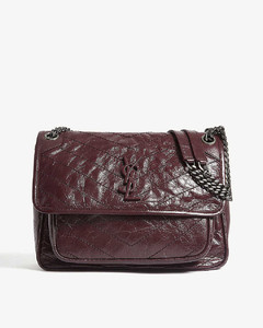 Niki monogram medium leather shoulder bag