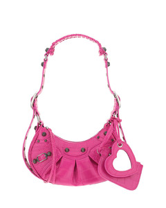 Rockstud polka-dot leather continental wallet