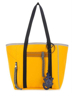 Large Reversible Leather Tote