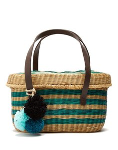 Serenella wicker basket