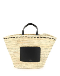 Prism Gloss Faux Leather Tote