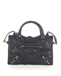 Shoulder bag Handbag CLASSIC MINI CITY leather black